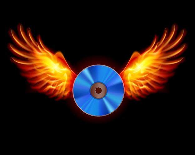 Cd-fiery wings