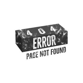 Cegła strony błędu 404