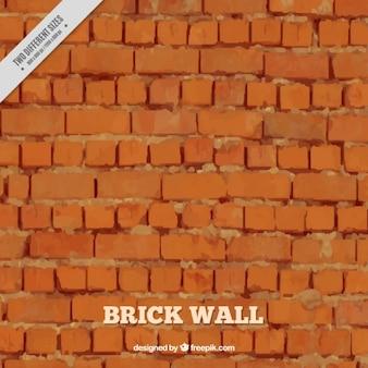 Ceglana ściana zewnętrzna