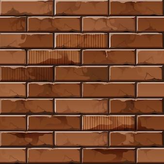 Ceglany mur tło wzór tekstury
