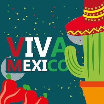 Celebracja viva meksyk