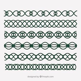 Celtic i elfów dekoracje