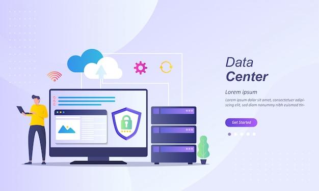 Centrum danych lub przetwarzanie w chmurze