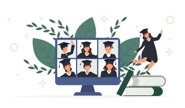 Ceremonia ukończenia szkoły online