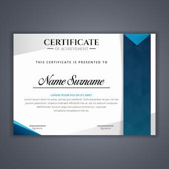Certyfikat do szablonu osiągnięć