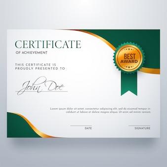 Certyfikat dyplomu ukończenia.
