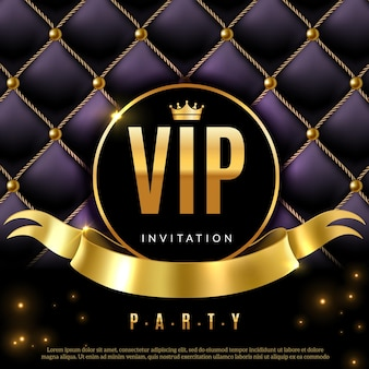Certyfikat kuponu luksusowego zaproszenia ze złotymi literami