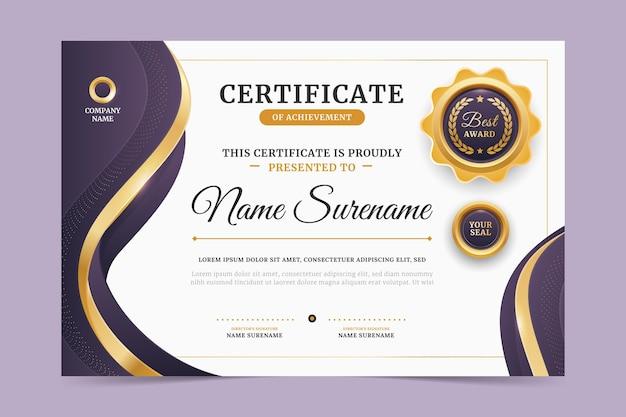 Certyfikat nowoczesny pracownik miesiąca