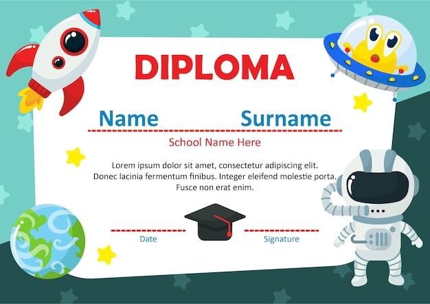 Certyfikat ukończenia przedszkola