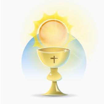 Chalice święta religia chrześcijańska