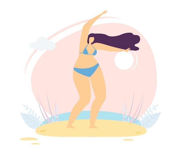 Charakter kobieta inspiracja ciało pozytywne