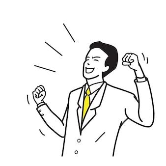 Charakter pracy biurowej podekscytowany