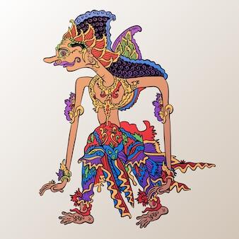 Charakter wayang kulit