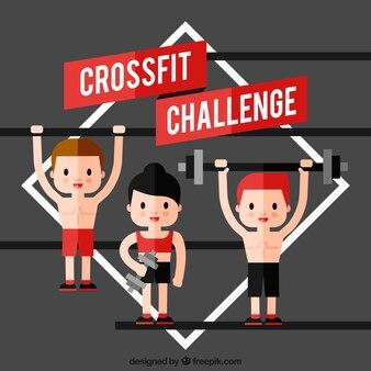 Charakter wyzwania crossfit
