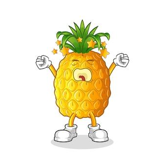 Charakter ziewania ananasa