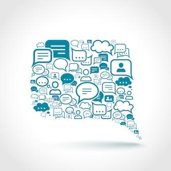 Chat elementy