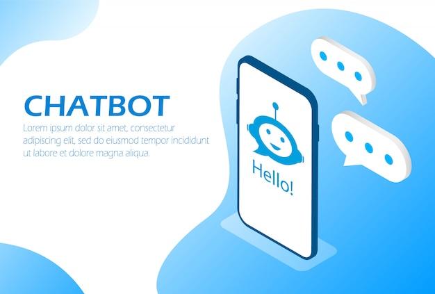 Chatbot. asystent online w telefonie