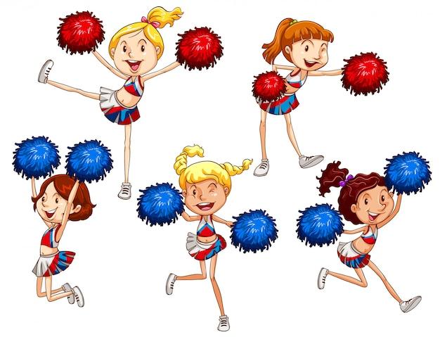 Cheerleaderki