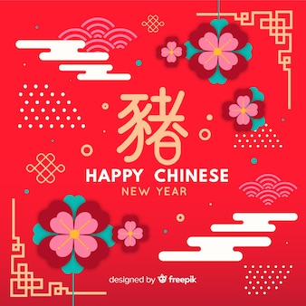 Chiński nowy rok 2019