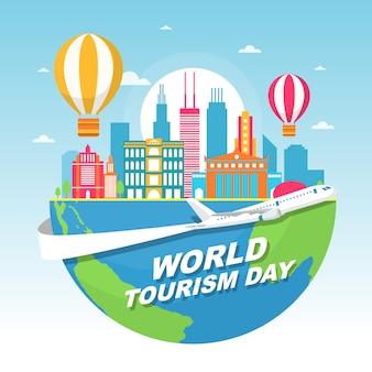 Chicago city illinois stany zjednoczone ameryki światowy dzień turystyki