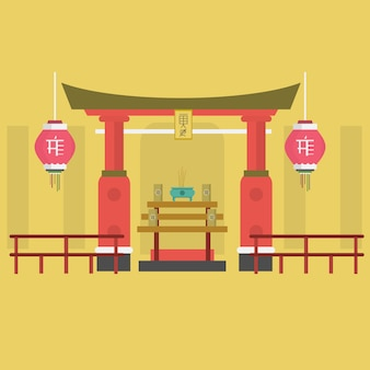 Chinatown wzór tła