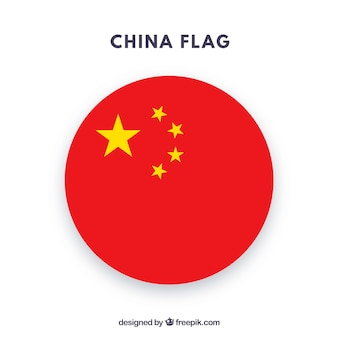 Chiński flaga tło