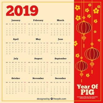 Chiński kalendarz 2019