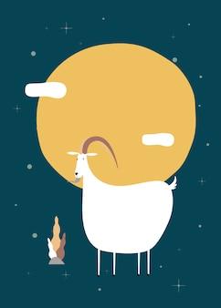 Chiński kozi zodiak znak