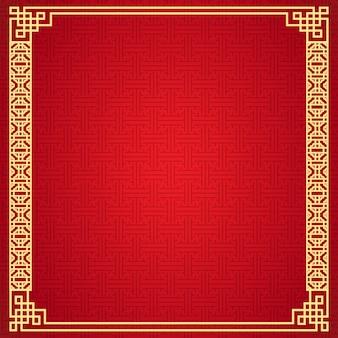 Chiński ramowy tło.