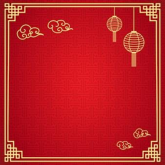 Chiński ramowy tło
