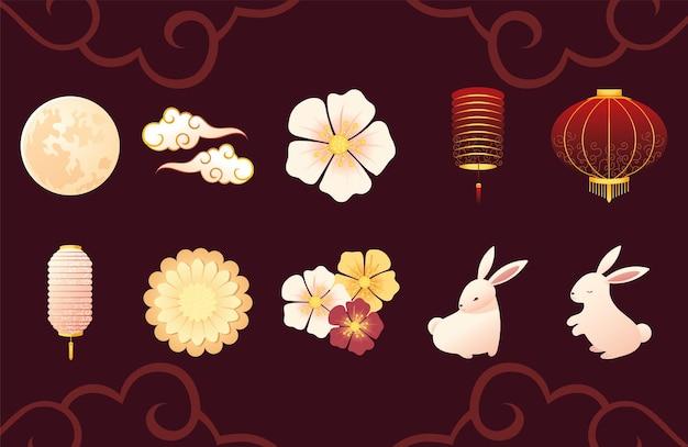 Chińskie kwiaty księżycowe