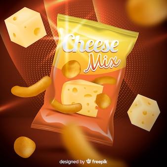 Chips szablon reklamy
