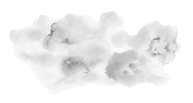 Chmura na białym tle