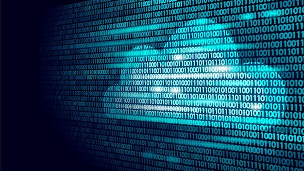 Chmura obliczeniowa numery binarne do przechowywania w internecie