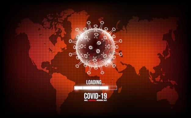 Choroba koronawirusowa zakażenie covid-19 medyczne. nowa oficjalna nazwa choroby koronawirusowej o nazwie covid-19, światowa koncepcja epidemii koronawirusa
