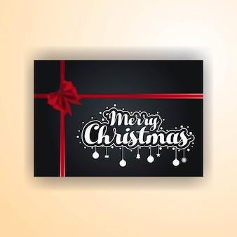 Christmas banner z elegancką dekoracją