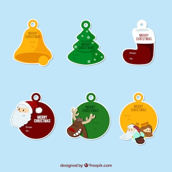Christmas etykiety cacko
