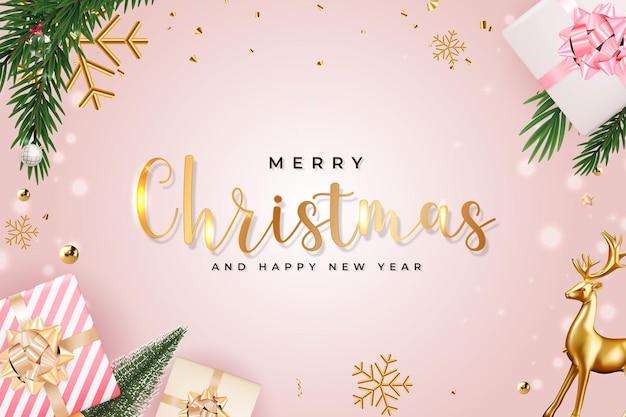 Christmas holiday party sale tło szczęśliwego nowego roku i wesołych świąt plakat szablon