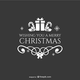 Christmas karty z pozdrowieniami