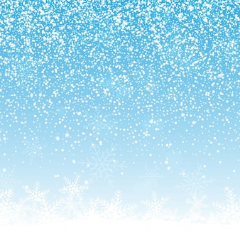 Christmas tle z śnieżynkami