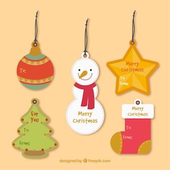 Christmas znaczniki