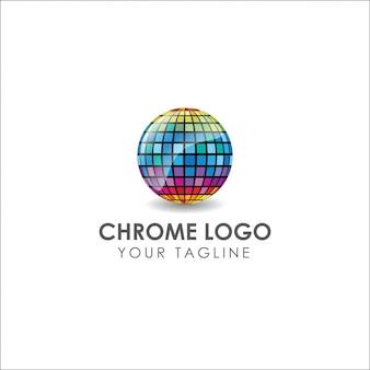 Chromowane logo
