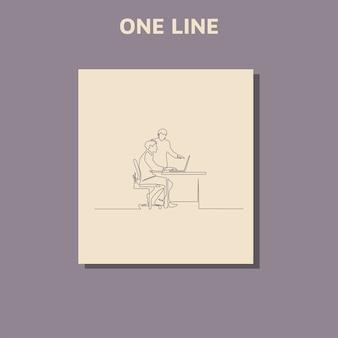 Ciągłe rysowanie jednej linii