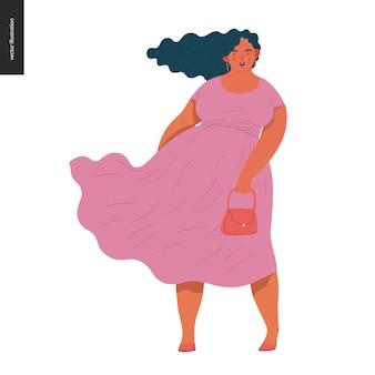Ciało pozytywne - portret kobiety