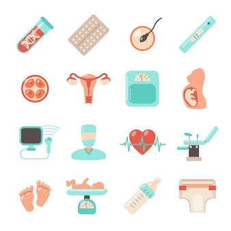 Ciąża ikony noworodka