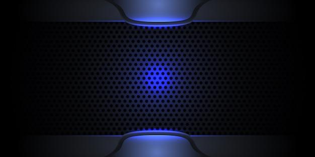 Ciemna nowoczesna tekstura z włókna węglowego
