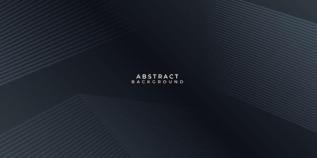 Ciemne czarne linie neutralne abstrakcyjne tło