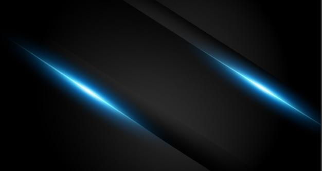 Ciemne świecące niebieskie światło w tle