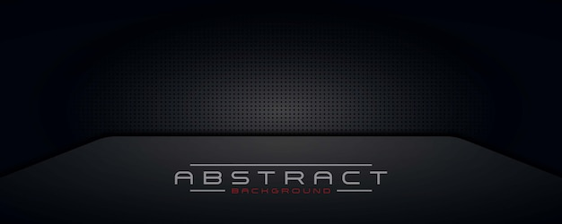 Ciemne tło, tapeta, transparent czarny nowoczesny design technologii