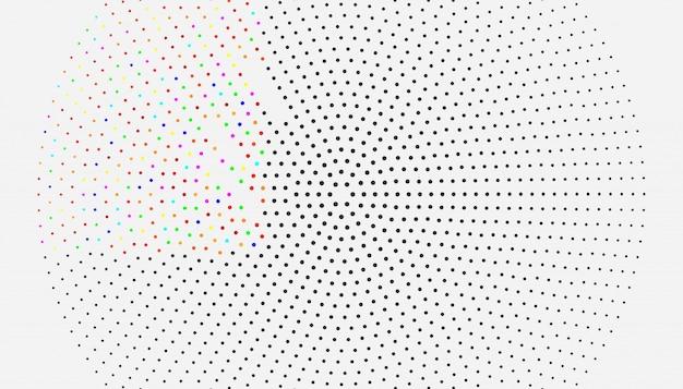 Ciemne tło z bąbelkami. piękna barwiona ilustracja z zamazanymi okręgami w natura stylu.